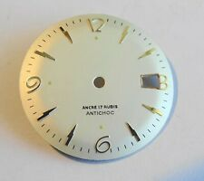 Watchmaker Watchmaking Dial Watch Curved Grey Diameter 1 1/16in Reciprocating