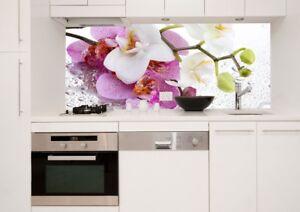 Küchenrückwand Glas Spritzschutz Glasrückwand ESG Sicherheitsglas KR151