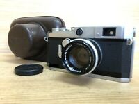 *Exc+5 w/ Case* Canon VL2 Rangefinder Film Camera w/ 50mm F/1.8 Lens from Japan