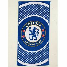 CHELSEA FC LARGE BEACH BATH TOWEL NEW OFFICIAL new gift