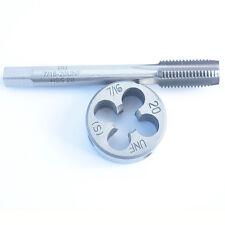 1pcs 7╱16-20 UNF tap + 1pcs Die CNC tool cutting billet drilling inserts HSS