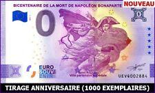 UE VQ-1 / BICENTENAIRE DE LA MORT DE NAPOLEON BONAPARTE / BILLET 0 € / 2021-1*