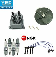 YEC&NGK Ignition Kit Distri.Cap Rotor Plugs Wire for Acura Integra1.8L 1994-2001