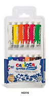 CARIOCA Tempera in 12 Tubetti da 12 ml