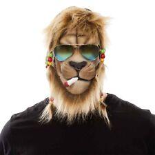 Lion raggae masque costume pour homme