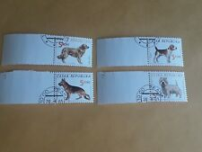 Stamps Czech Republic 2001, Used Dogs