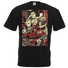 BLADE RUNNER Movie Poster T shirt Black brickNatural all sizes Harrison Ford