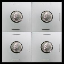 Lot4x 1963-P 10C Roosevelt Dime 90% Silver Bu Brilliant Uncirculated 10 Cent #31