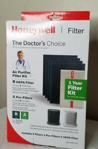 HONEYWELL HRF-ARVP100 Air Purifier Filter Kit 1x R HEPA / 4x A Pre-Filter New
