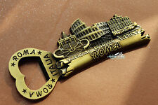 Italy Roma Landmarks Tourist Souvenir 3D Metal Fridge Magnet Beer Bottle Opener