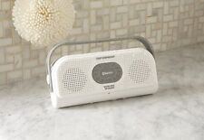 Sharper Image Bluetooth Shower Speaker With Speakerphone Waterproof