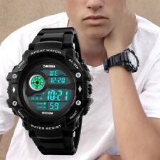 SKMEI  Watches Sports Digital Mens Boys Watch Waterproof Casual Wristwatch UK