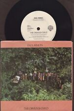 """Paul Simon - The Obvious Child - 1990 7"""" picture sleeve single 45rpm"""