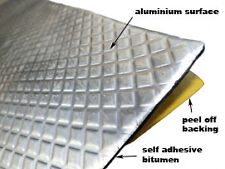 "Automotive ""Bitumen + Aluminium self adhesive""  - Soundproofing Pads  20 PADS"