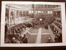 100 anni Camillo Benso di Cavour nel 1910 Senato Subalpino Alpini Grivola Segato