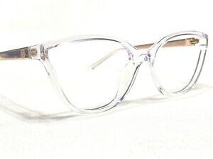 Michael Kors MK4071 Belize 3050 Women's Clear & Gold Rx Eyeglasses Frames 53/17