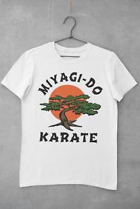 Miyagi Do T-shirt Tee Top Karate Kid Movie Kung Fu Martial Arts Retro Men Unisex