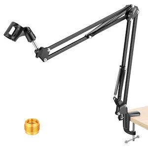 Neewer Studio Microphone Suspension Boom Scissor Arm Stand for Radio Broadcast