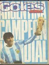 Goles Magazine Argentina Soccer World Cup 1978 Special Edition