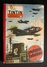 Reliure Tintin 1953 n° 17 (253-265) très bel état cote 230 €