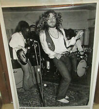 LED ZEPPELIN POSTER LIVE NEW ROBERT PLANT MID 2000'S VINTAGE SOUTH HAMPTON 1971