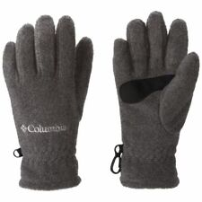 Columbia Youth Fast Trek Fleece Gloves Charcoal Heather L-G