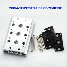 solenoid valve base 4V210-08 valve air exhaust manifold 200M-1F/2F/3F/4F/5F/6F
