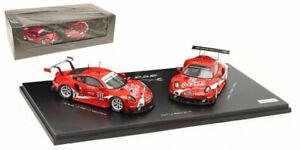 Spark Porsche 911 RSR 'Coca-Cola' #911/#912 Petit Le Mans 2019 - 1/43 Scale