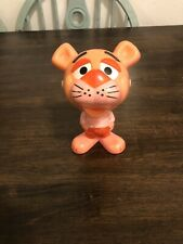 1976 MATTEL TOYS CHATTER CHUMS ( PINK PANTHER ) PULL STRING TALKING FIGURE