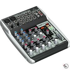 Behringer Xenyx QX1002USB Premium 10-Input Studio Mixer USB Audio Interface