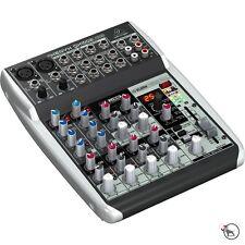 Behringer Xenyx QX1002USB Premium 10-Input Studio Mixer USB Audio Interface