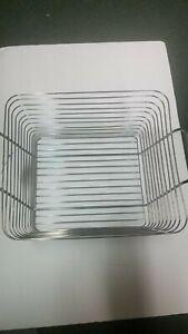 InterDesign Classico Large Basket, Chrome W-set of (2)