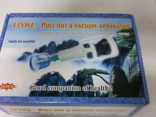 10 CUPS & A PUMP VACUUM CUPPING SET ACUPUNCTURE THERAPY APPARATUS SUCTION HIJAMA
