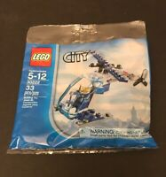 POLYBAG LEGO CITY HELICOPTERE Limited Edition Foil Pack 951905 Neuf POMPIER
