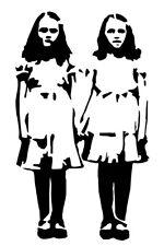 The Shining Grady Twins VINYL DECAL horror movie Stephen King bumper sticker