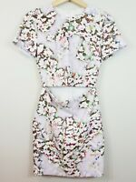 BEC & BRIDGE | Womens Floral Print Midriff Dress  [ Size  AU 6 or US 2 ]