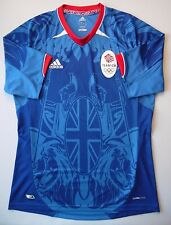 5/5 Adidas Team GB 2012 Olympic Supporters Shirt (Blue) ORIGINAL JERSEY FOOTBALL
