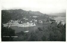 Italy Portofino panorama photo postcard