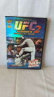 GRACIE  ROYCE     UFC CLASSICS 2 : ULTIMATE FIGHTING CHAMPIONSHIP DVD Unrated