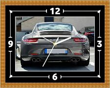 Porsche 911 Rear Clock Gift Present Christmas Birthday (Can Be Personalised)