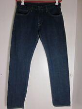 Recent LEVIS Matchstick Skinny Stretch Indigo Blue Selvedge Denim Jeans 32 x 34
