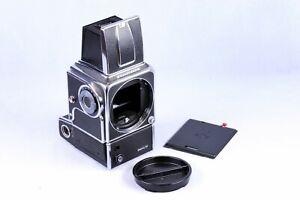 Hasselblad 500EL/M medium format Camera Body chrome [ from Taiwan ]