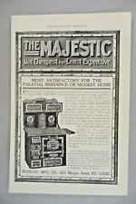 Majestic Stove PRINT AD - 1904 ~~ St Louis