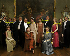 DOWNTON ABBEY Group Picture #3467 Michelle Dockery Allen Leech Maggie Smith  +