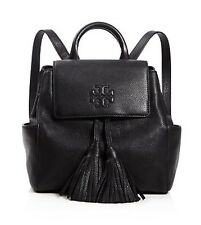 NWT TORY BURCH Thea Mini Backpack In Black Color Leather