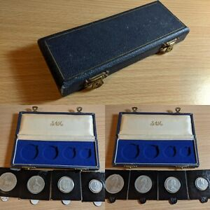 Rhodesia 1964 Proof Set, with Mint Wooden case