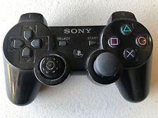 Sony PS3 Sixaxis Wireless Playstation 3 Dualshock 3 Controller CECHZC2U Black