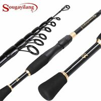 Telescopic Fishing Rod Ultralight Carbon Fiber Casting Sea Spinning Pole Hot