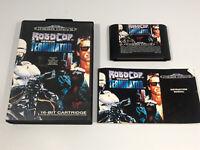Robocop Versus Vs The Terminator- Sega Mega Drive Game - PAL Boxed With Manual