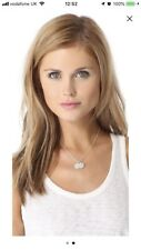 """HELEN FICALORA 16"""" Fine Silver Chain with Two 1/2"""" A Charms New Sold Out $150"""